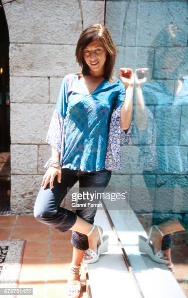 The Spanish actress Eva Isanta Madrid Spain