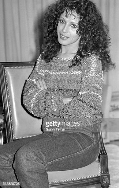 The Spanish actress Sara Mora Madrid Spain