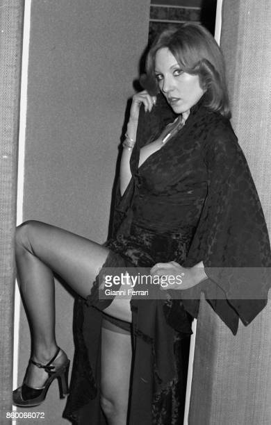 "The Spanish actress Susana Estrada filming ""Lucecita"" 1977 Madrid Spain"