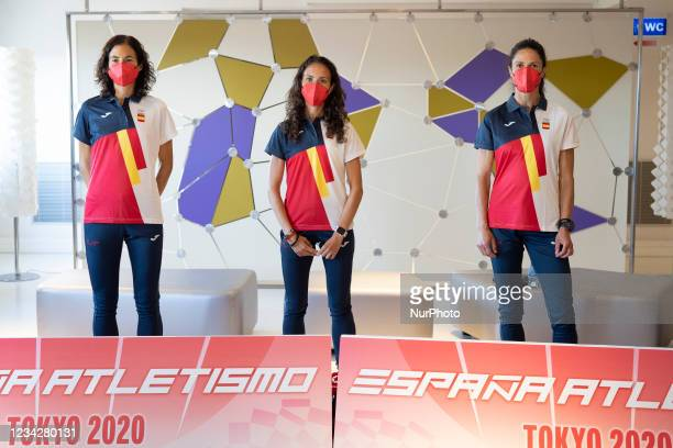 The Spanish athletes who will compete in the March category of the Tokyo 2020 Olympic Games, led by captain Chuso García Bragado, during this...