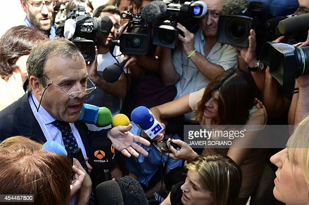 The Spanish lawyer Juan Isidro Fernandez Diaz of Ashya King's parents the fiveyearold British boy with a brain tumour who was taken from hospital...