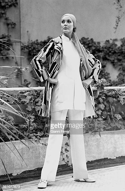The Spanish model Paquita Torres Miss Spain 1966 and Miss Europe 1967 Madrid Spain