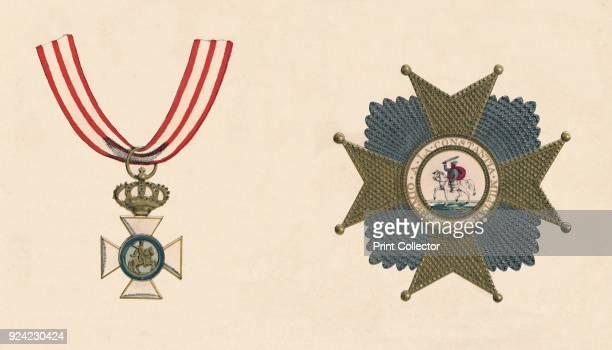 The Spanish Order of St Hermenegildo' The Royal and Military Order of Saint Hermenegild was established by Ferdinand VII of Spain in 1814 The badge...