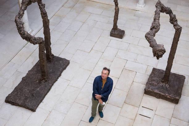 ESP: 'Miquel Barcelo. Metamorfosis' Exhibition Presentation In Malaga