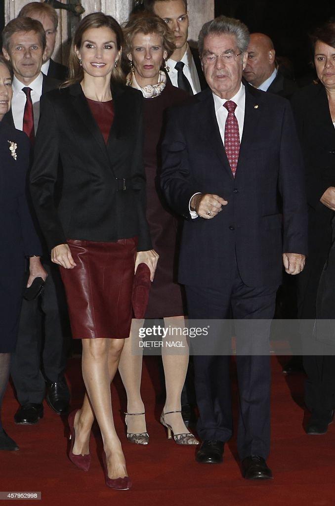 AUSTRIA-SPAIN-ROYALS : News Photo