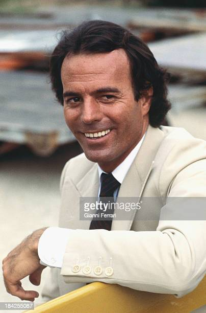The Spanish singer Julio Iglesias 1981 Madrid Castilla La Mancha Spain