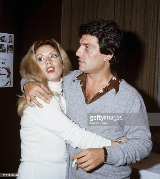 The Spanish singer Maria Jimenez and her husband the Spanish actor Pepe Sancho 1980 Madrid Spain
