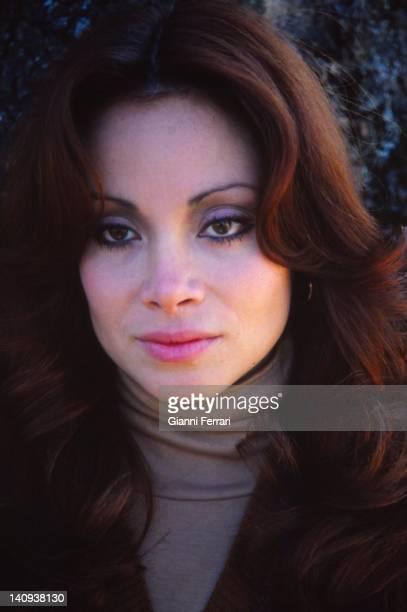 The spanish singer Paloma San Basilio Madrid Spain