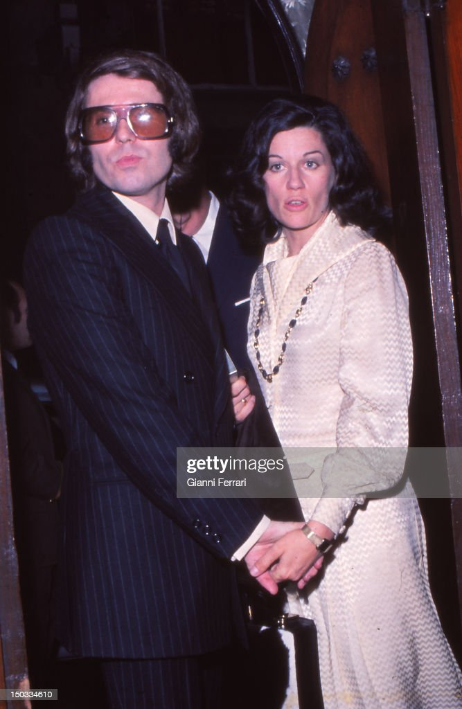 Raphael and wife : News Photo