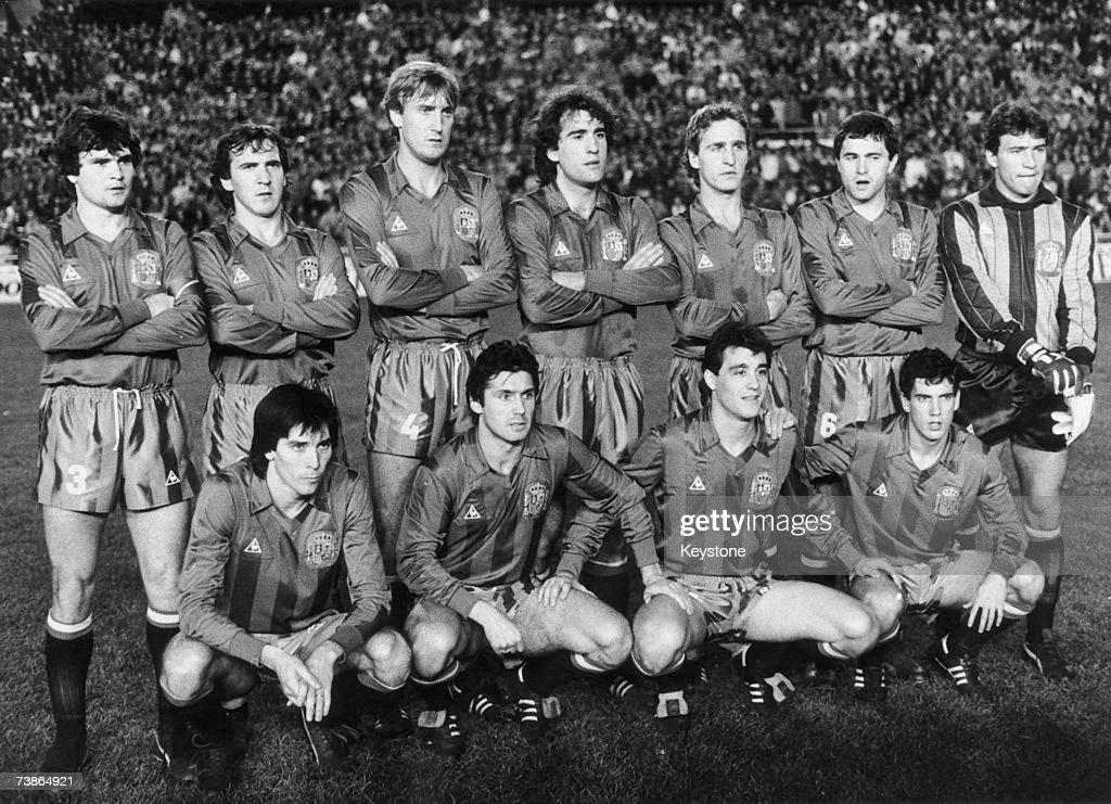 Spanish Soccer Team : News Photo
