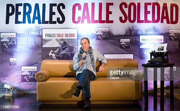 The Spanish songwriter José Luis Perales presents his new album Soledad Street on july 26 2012 in Mexico City Mexico