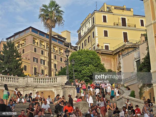 The Spanish Steps are a set of steps in Rome, Italy, climbing a steep slope between the Piazza di Spagna at the base and Piazza Trinita dei Monti,...