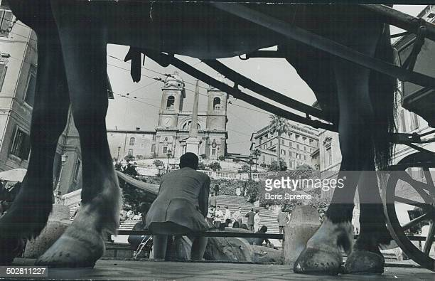 The Spanish steps in Rome vie with the relics of antiquity as tourist attraction and both are attainable for a more modest price than one would think...