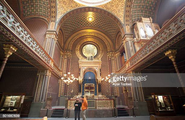 CONTENT] The Spanish Synagogue was built in 1868 on the site of the oldest Prague Jewish house of prayer