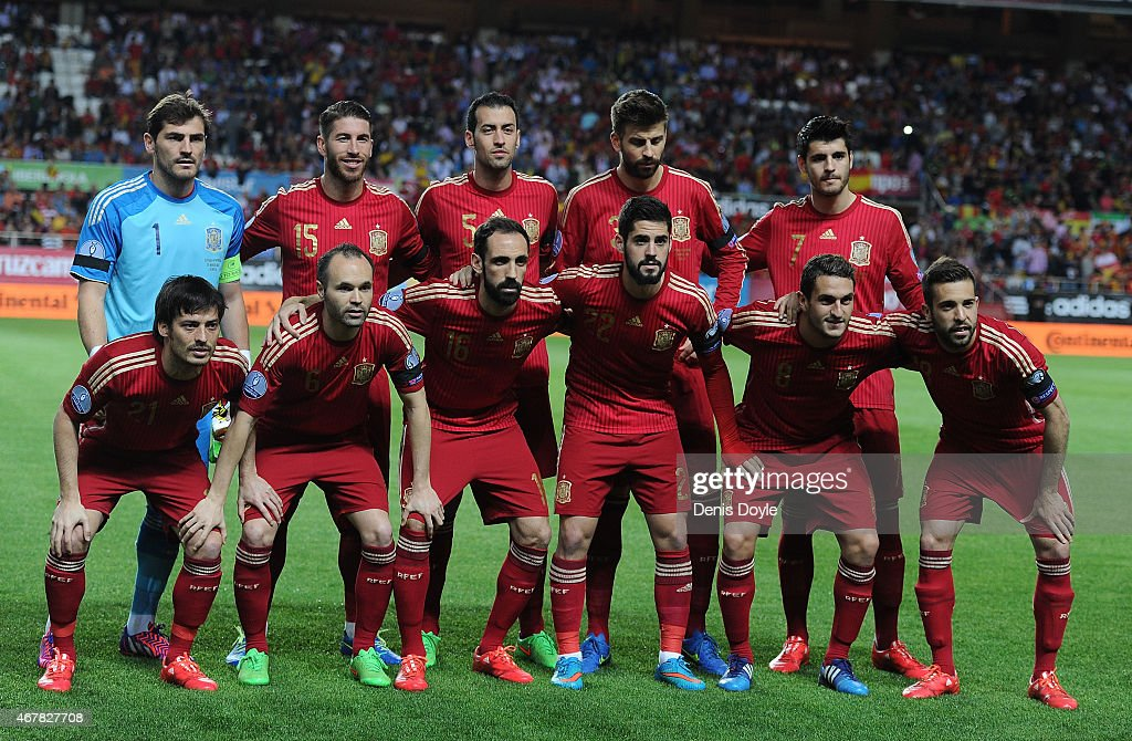 Spain v Ukraine - EURO 2016 Qualifier : News Photo