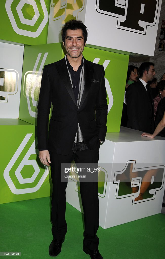 The spanish TV presenter Jorge Fernandez to the delivery of the awards 'TP of Gold' for the best presenters, actors and programs of the Spanish televisions, 10 February 2009, 'Palacio de Congresos', Madrid, Spain.
