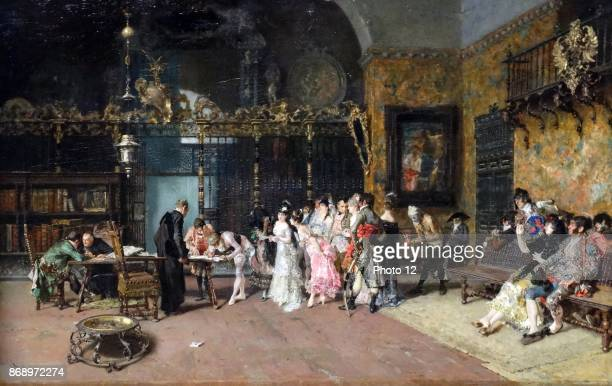 The Spanish Wedding 1870 by Maria Fortuny 18381874 Spanish artist Oil on wood