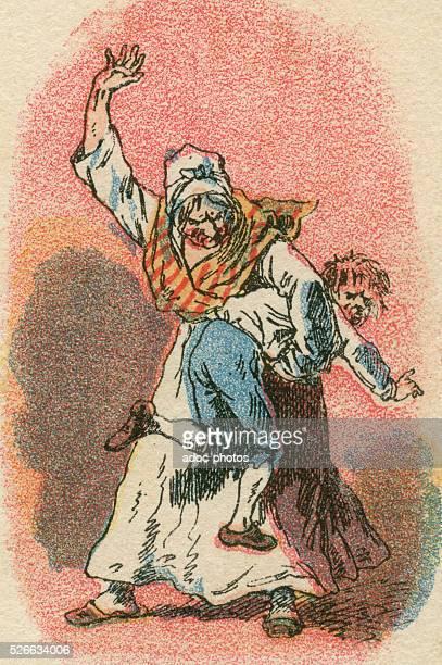 The spanking Ca 1890