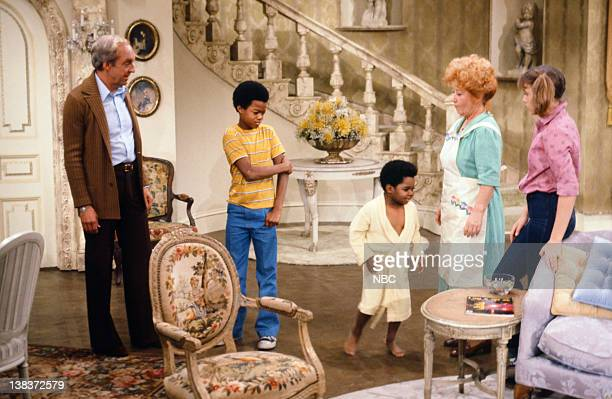 RENT STROKES The Spanking Episode 5 Pictured Conrad Bain as Philip Drummond Todd Bridges as Willis Jackson Gary Coleman as Arnold Jackson Charlotte...