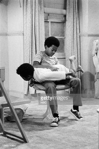 RENT STROKES 'The Spanking' Episode 5 Pictured Gary Coleman as Arnold Jackson Todd Bridges as Willis Jackson