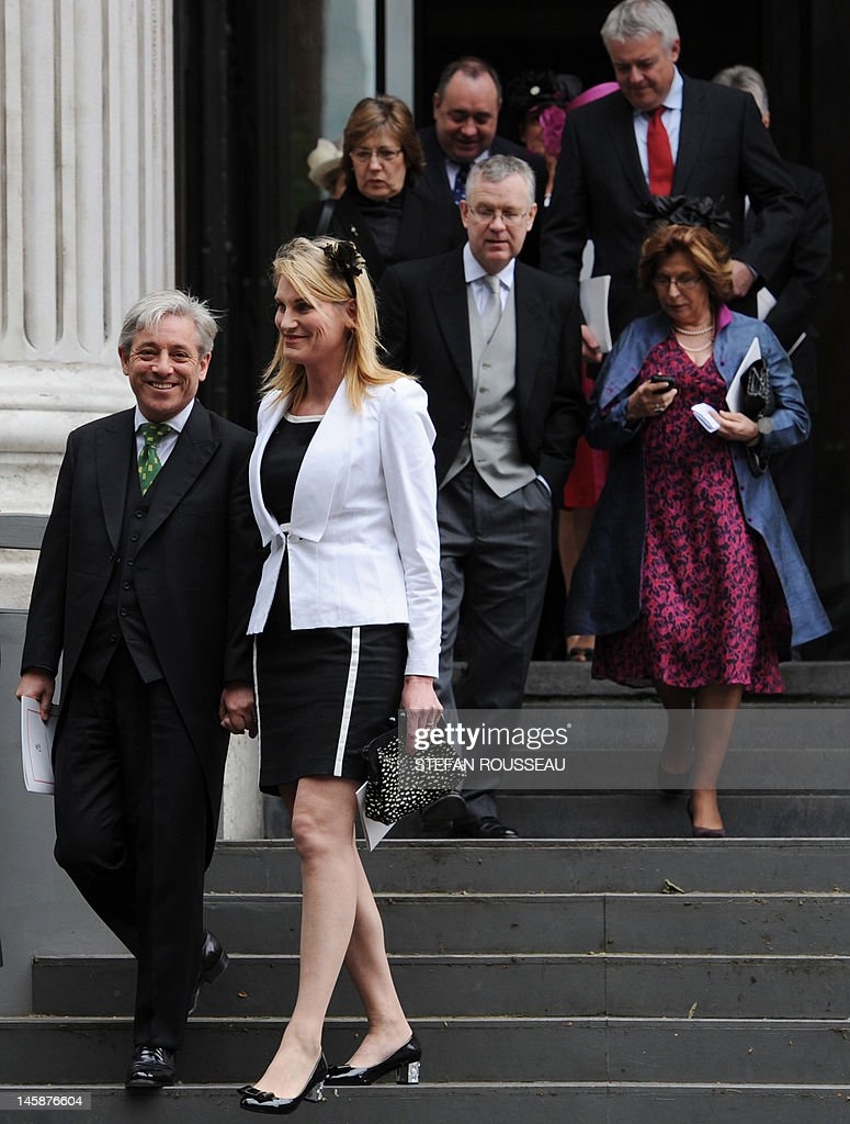 The Speaker of the British House of Comm : News Photo