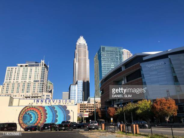 The Spectrum Center in Uptown Charlotte North Carolinais seen on November 132019 and will be the site of the 2020 Republican National Convention