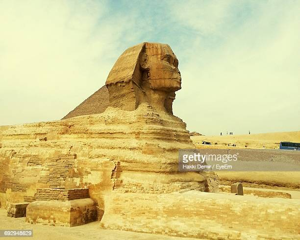 The Sphinx Against Sky