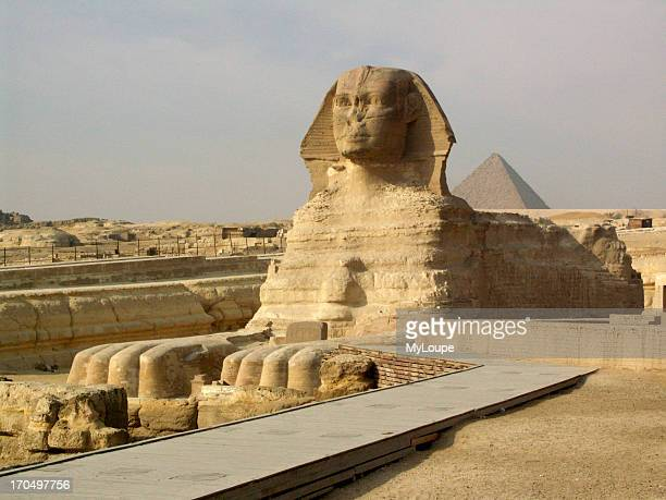 The Sphinx At Giza Egypt The Sphinx Is One Of The Most Easily Recognized Symbols Of Ancient Egypt It Is Part Of Khafres Pyramid Complex