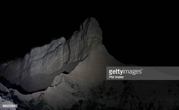 The Sphinx is lit up during the ANZAC Day Dawn Service at ANZAC Cove on April 25, 2010 in Gallipoli, Turkey. Today commemorates the 95th anniversary...
