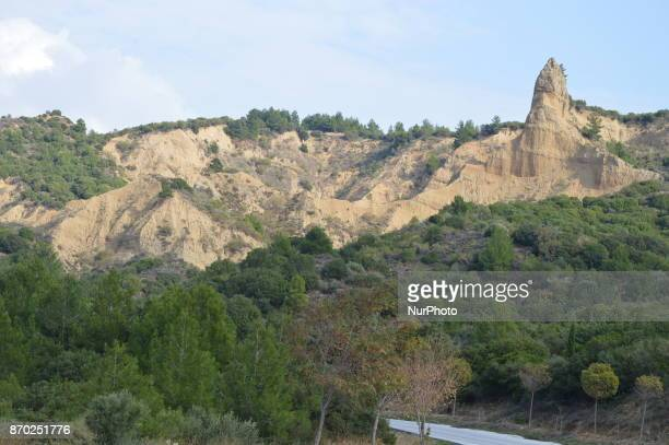 The Sphinx is seen at Anzac Cove on the Gallipoli peninsula in Canakkale Turkey on November 4 2017 ''Turkey is currently ranked sixth in the tourism...