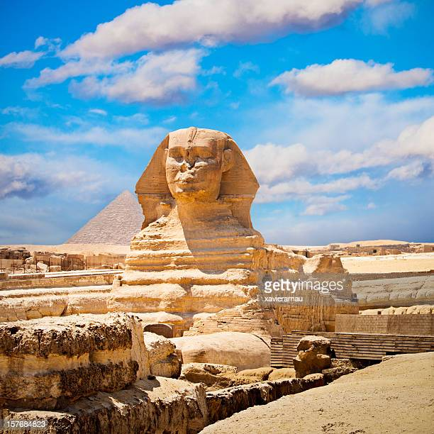 the sphinx - east stock pictures, royalty-free photos & images