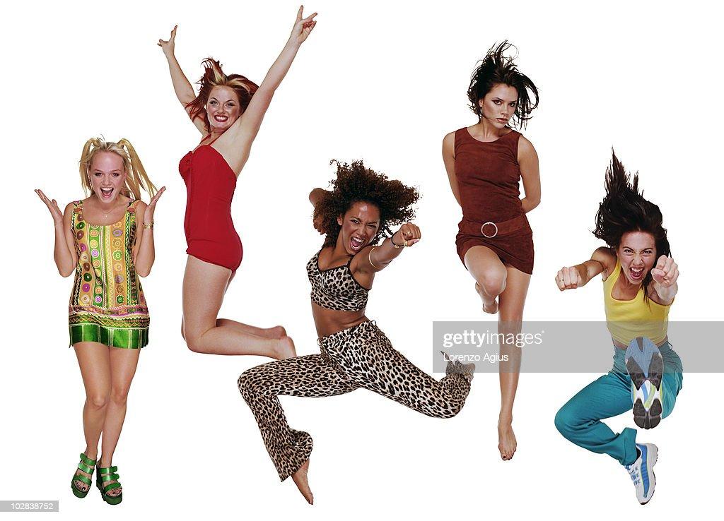 Spice Girls, August 01, 1997 : News Photo