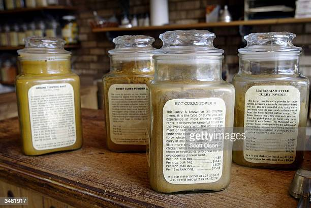 The Spice House a spice retail store offers turmeric for sale in their shop April 23 2004 in Evanston Illinois The journal Science reported April 23...