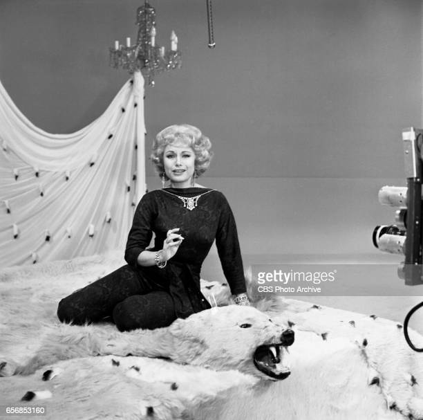 The Spike Jones Show a musical comedy television program Pictured here is comedienne Joyce Jameson Image dated July 22 1960 Show originally broadcast...