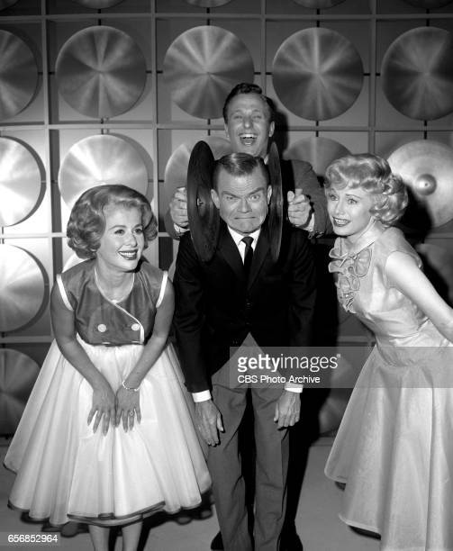 The Spike Jones Show a musical comedy television program Pictured from left here is singer Helen Grayco Spike Jones and comedienne Joyce Jameson with...