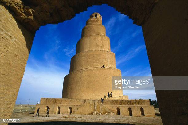The Spiral Minaret of Samarra also known as the Shrine of Ali Al Hadi one of Seven Wonders Of The World