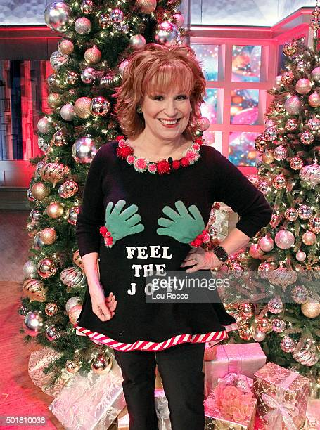 THE VIEW The spirit of the holidays is celebrated on THE VIEW airing FRIDAY DEC 18 on the Walt Disney Television via Getty Images Television Network...
