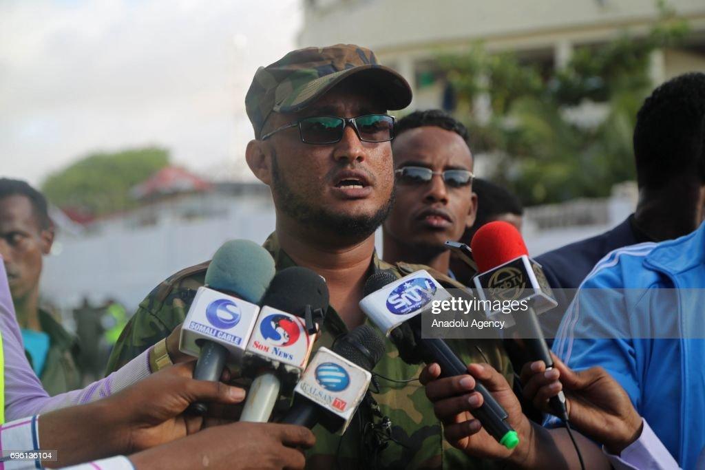 Suicide attack in Somalia : News Photo