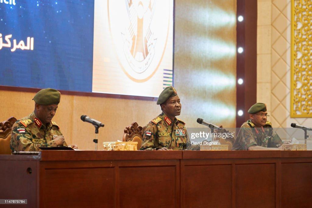 Khartoum Protests Continue As Military Delays Ceding Power : News Photo
