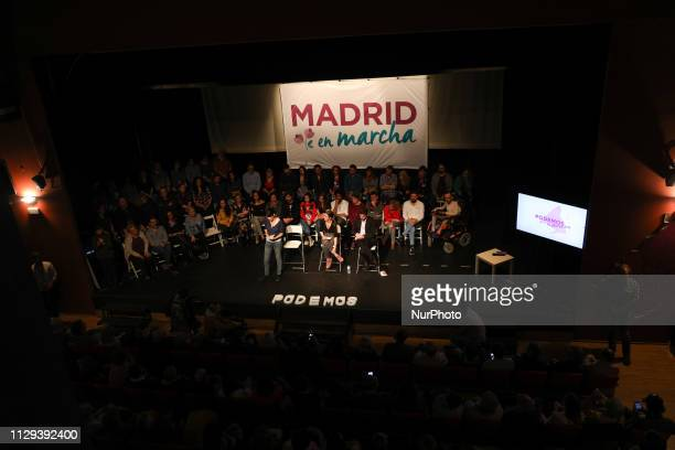 The spokeswoman of Unidas Podemos in the Congress has been accompanied by Isa Serra candidate of Podemos for the Community of Madrid and Jesús Santos...