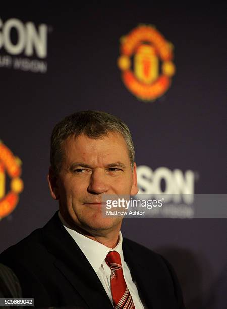 The sponsorship agreement with Manchester United and Japanese company EPSON - Manchester United Chief Executive David Gill