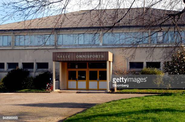 The sports hall where Jerome Kerviel learned judo stands in Pont l'Abbe Britanny western France on Saturday Jan 26 2008 Societe Generale SA said...