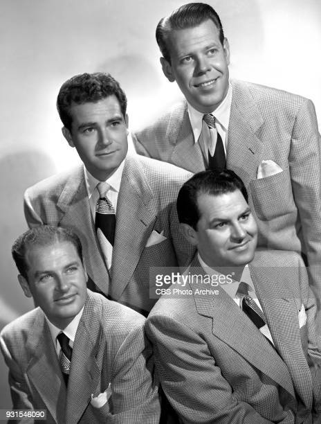 The Sportsmen Quartet a barbershop quartet They performed regularly on the Jack Benny radio program Clockwise from bottom left Bill Days Bob Stevens...