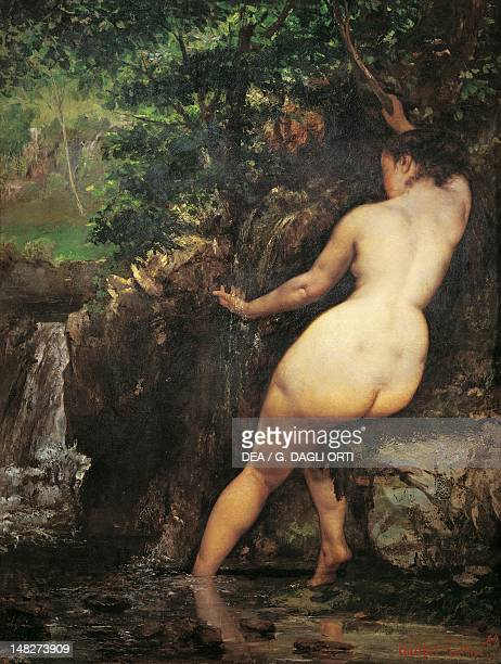 The spring by Gustave Courbet oil on canvas 128x97 cm Paris Musée D'Orsay