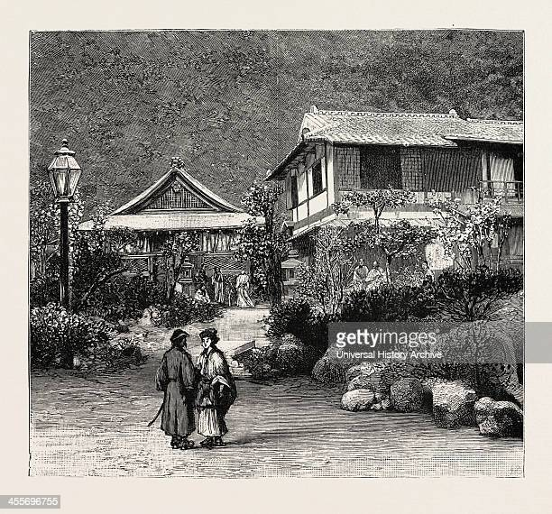 Scenes In The Towns And Districts Recently Devastated By The Earthquake In Japan The Spring Of Suwayamashita Kobe