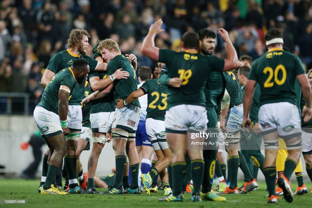 New Zealand v South Africa - The Rugby Championship : News Photo