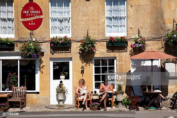 The square at StowontheWold in The Cotswolds Gloucestershire UK StowontheWold is a delightful market town perhaps the best known of the small...