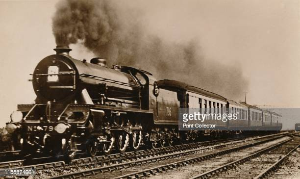 The SR Southern Belle Pullman Express' circa 1930s 'The Southern Belle is the famous SR [Southern Railway] Pullman Limited Express hauled by a Baltic...
