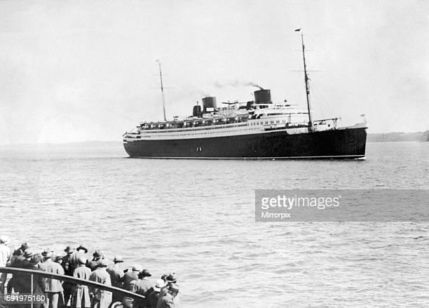 The SS 'Bremen' c.1930.