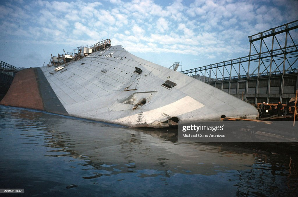 The SS Normandie... : News Photo